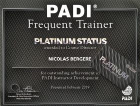 All 4 Diving PADI Pro Thailand - Platinum PADI Course Director Nicolas Bergere